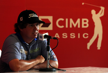 Nothing seems to rattle Jason Dufner.