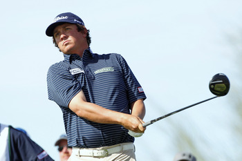 Jason Dufner knows how to find fairways with the big stick.