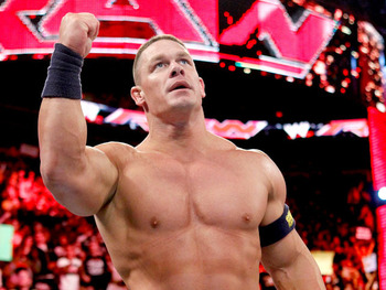 With Rock returning to the big screen this Summer Cena pretty much has to win. Photo Courtesy of WWE.com