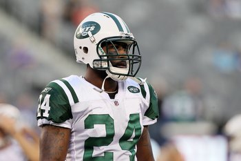 Darrelle Revis—cornerback for the New York Jets.