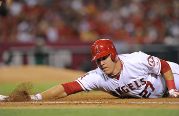 Mike Trout is going early after a monster 2012 season.