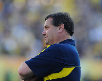 Brady Hoke should smile a little after landing a class with seven top 100 recruits.