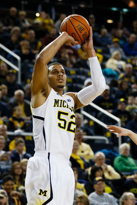 Jordan Morgan played four minutes against Ohio State.