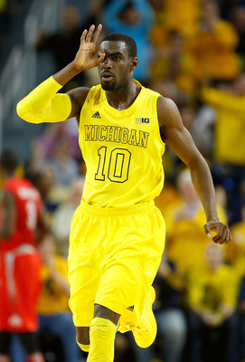 Tim Hardaway Jr. caught fire when the Wolverines needed him the most.