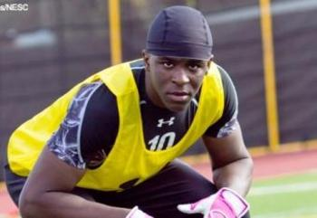 DB Johnny Johnson ; photo courtesy of 247Sports