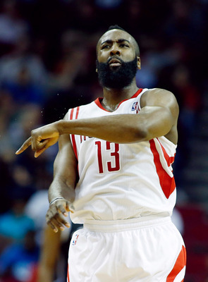 James Harden should lead the Rockets to a better second half of the season.