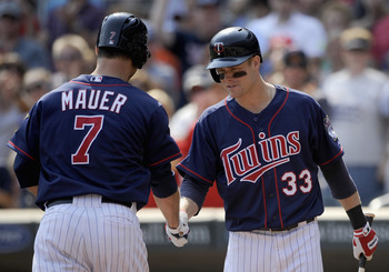 Mauer and Morneau could be a handful for the Tigers.