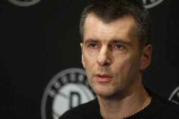 Nets Owner Mikhail Prokhorov spent an unprecedented amount of money last offseason.