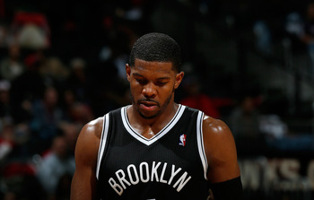 Joe Johnson has shot well below his career average in field goal percentage since arriving in Brooklyn.