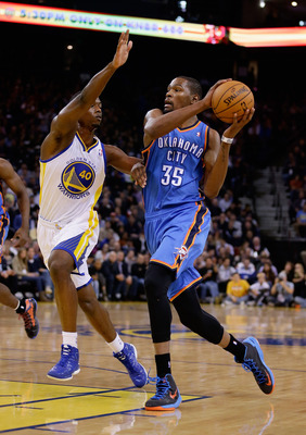 Barnes might find himself guarding Durant in the playoffs yet again.