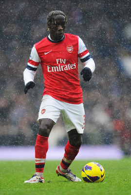 Bacary Sagna has filled in at left-back when needed.