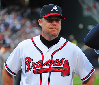 You can replace Chipper Jones' production, but not what he meant to the Braves clubhouse.