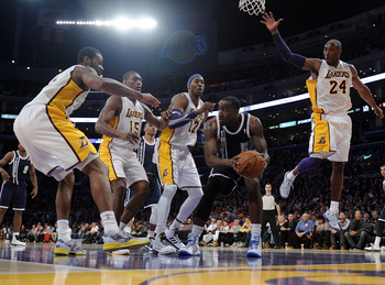 Defense will be key to the Lakers success down the stretch.