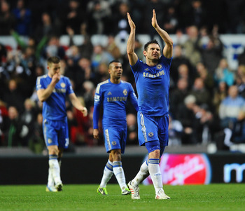 Frank Lampard is letting his football do the talking at Chelsea