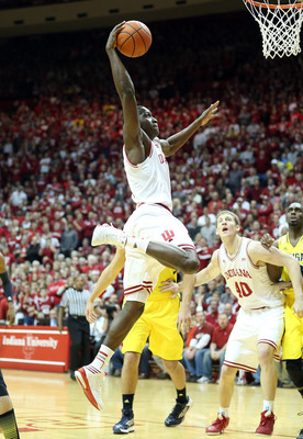 Oladipo is one of the most athletic players in the NCAA.