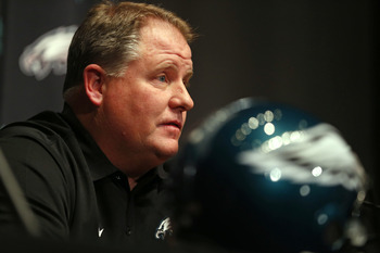 Chip Kelly is introduced as the Philadelphia Eagles' head coach on Jan. 17.