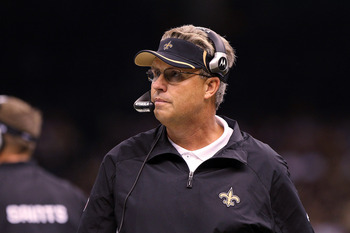 Gregg Williams looks on during a game against the Pittsburgh Steelers on October 31, 2010.
