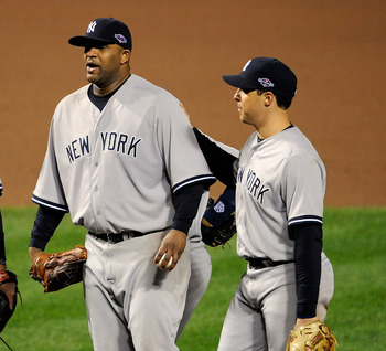 CC Sabathia and Mark Teixiera will return to normal performance levels