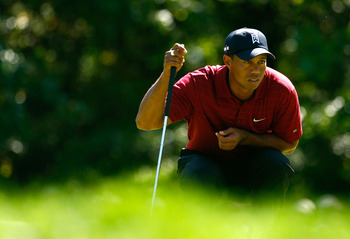 Tiger Woods won the 2009 BMW Championship after posting a 62 in the third round.