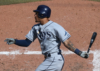 Desmond Jennings will likely serve as the Rays' leadoff man in 2013