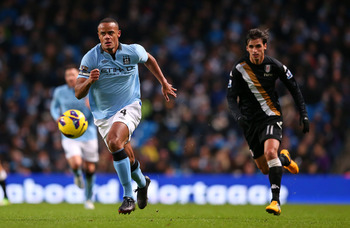 Vincent Kompany will be a big loss for City.