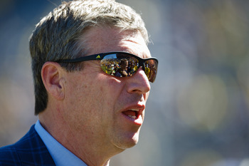 Michigan athletic director Dave Brandon.