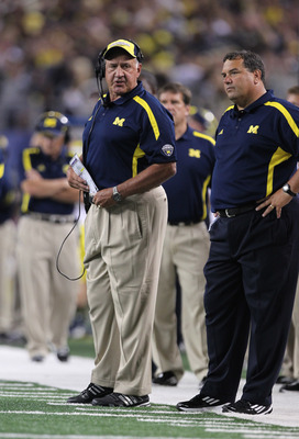 Greg Mattison and Brady Hoke.