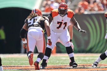 Andre Smith has finally grown into his first-round expectations and has solidified the right side of the Bengals' offensive line.