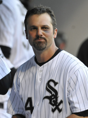 Black eye or not, Konerko would shine under the lights of a studio.