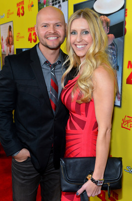 "Ross, with his wife, at the ""Movie 43"" premiere in L.A."