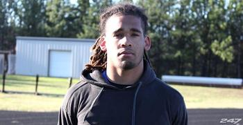 Kain Daub is one of the premier linebackers in the 2014 class.  Via 247Sports