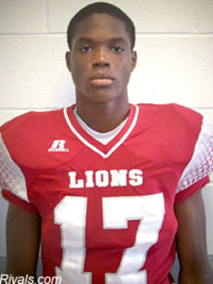 Cameron Sims, 4-star wide receiver according to Rivals.com.  Via Rivals.com