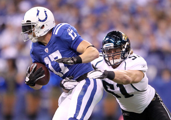 If Austin Collie can stay out of the training room the Colts need is less.