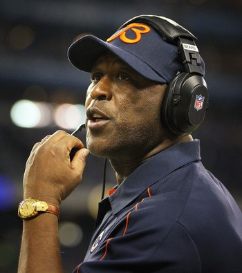 Lovie Smith couldn't improve the offensive side of the ball.