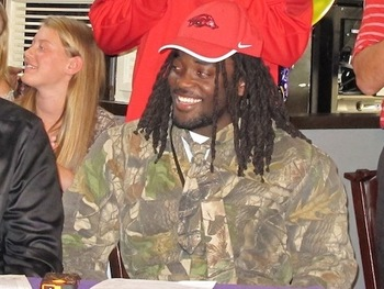 Arkansas RB signee Alex Collins / Photo: 247Sports.com