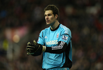 Asmir Begovic.