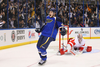 Rookie Vladimir Tarasenko has the explosiveness to trigger the Blues' power play.