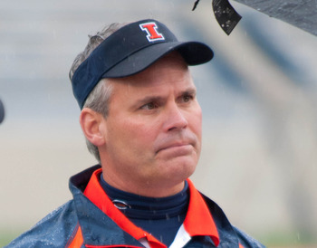 Illinois head coach Tim Beckman