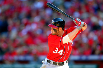 Bryce Harper won the NL Rookie of the Year Award in 2012.