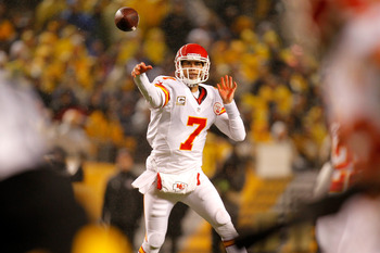 Matt Cassel's time in Kansas City may be running out despite a new head coach taking over.