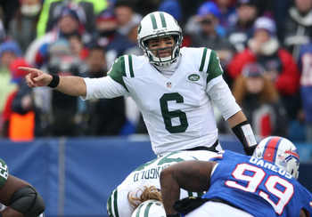 Mark Sanchez is not the long-term solution in New York.
