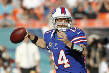 Ryan Fitzpatrick may have played his last game as a starter in Buffalo.