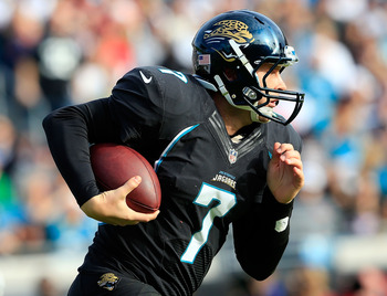 Chad Henne was not much better than Blaine Gabbert in 2013.