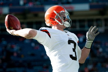 Brandon Weeden will have competition for his starting spot leading up to the 2013 season.