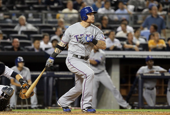 Josh Hamilton signed a five-year deal to play for the Los Angeles Angels.