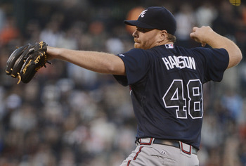 Tommy Hanson won 45 games in four seasons with Atlanta