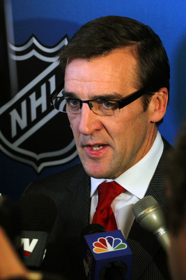 George McPhee expects more from his goalies.