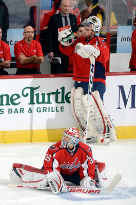 So far, two goalies have not been better than one for the Washington Capitals.