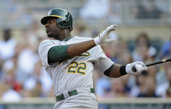 Slugger Chris Carter had 16 HR in 218 at-bats last season.