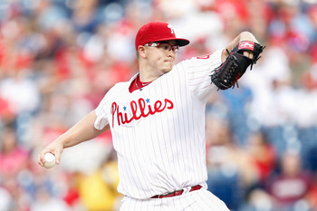 SP Vance Worley is 18-13 with a 3.50 ERA in 53 big-league appearances.